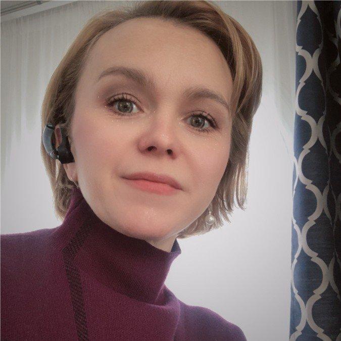 The speaker Elena Ames's profile image