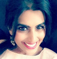 The speaker Farisa Khan 's profile image