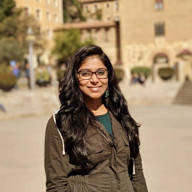 The speaker Priya N's profile image