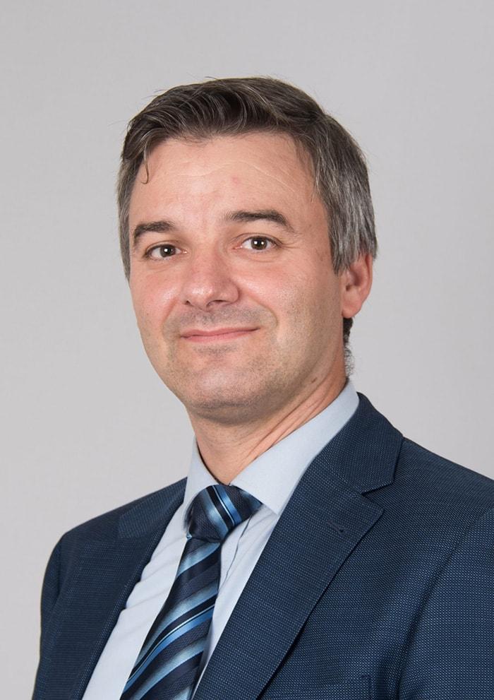 The speaker David Stevens's profile image