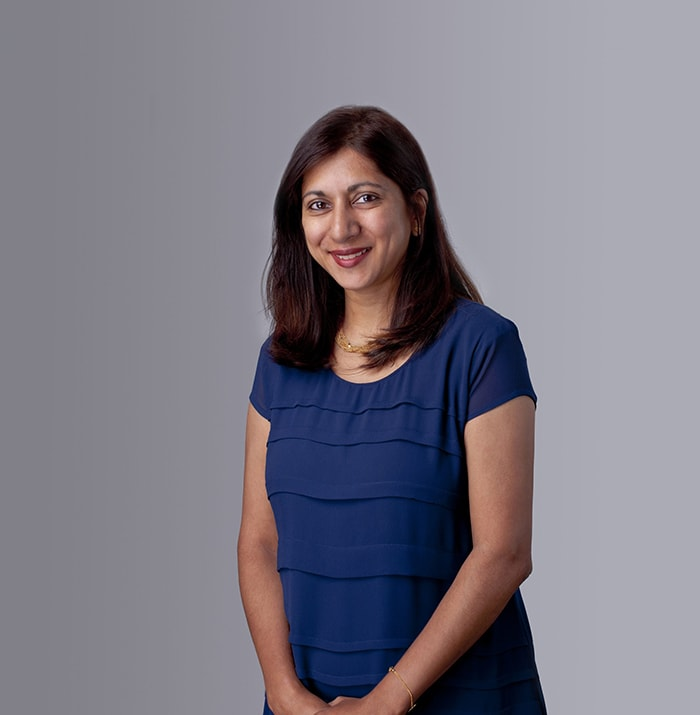 The speaker Preeta Bhagattjee 's profile image