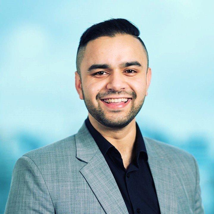 The speaker Abhishek Dubey's profile image