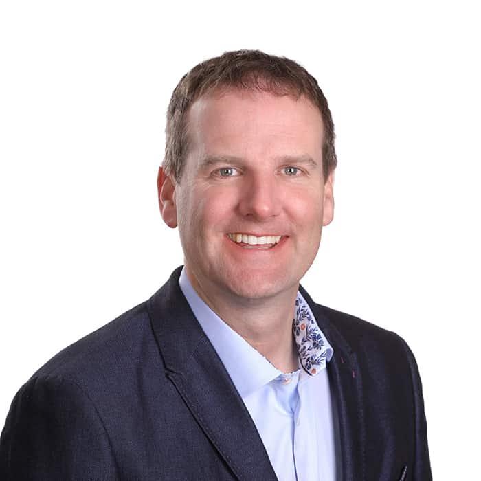 The speaker Mark Webber's profile image