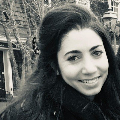 The speaker Andrea Gumushian 's profile image